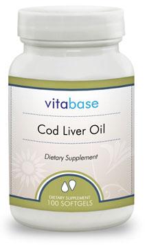 Cod Liver Oil (650 mg)